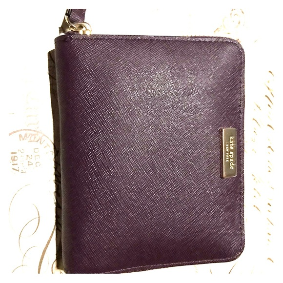 kate spade Handbags - Kate Spade Wallet Darci Laurel Way in Plum